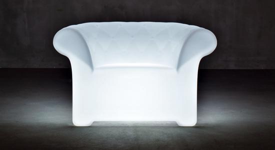 D coration ext rieure mobilier lumineux design - Mobilier jardin lumineux ...
