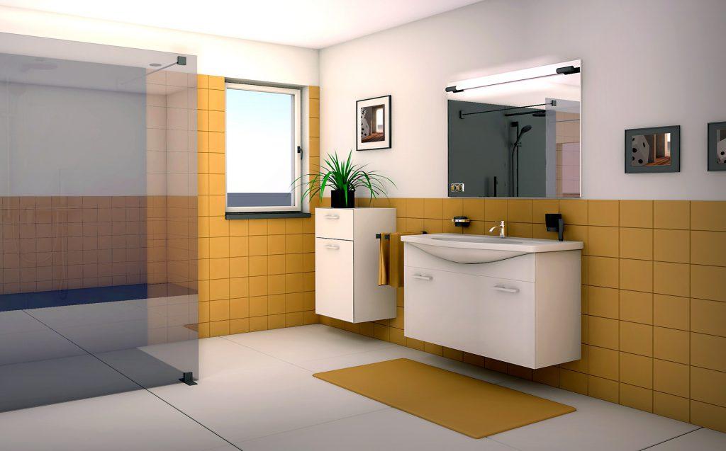 Id es d co tendance pour la salle de bain artella - Deco salle de douche ...