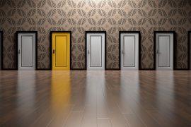 rangée de portes